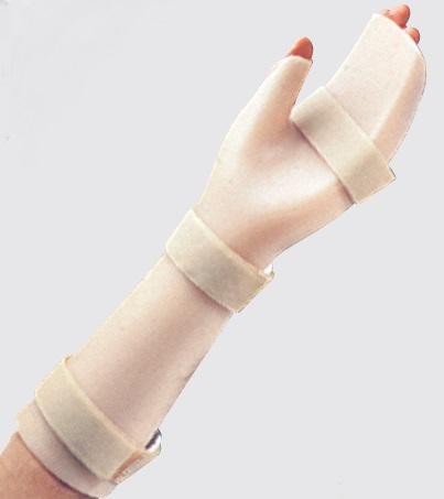 Doccia per polso, mano, dita in polietilene