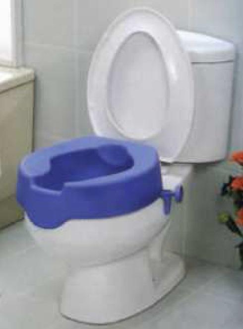 RIALZO WC SOFT BLU